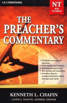 The Preacher's Commentary NT Vol 30:      1,2 Corinthians   -     By: Kenneth L. Chafin