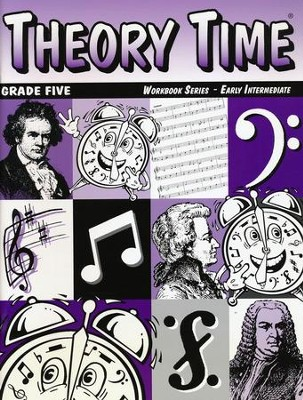 Theory Time for Grade Five - Early Intermediate Workbook  -