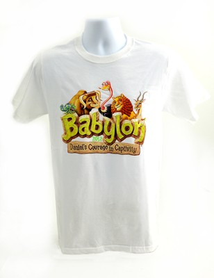 Babylon VBS Theme T-Shirt, Adult Small, 34-36   -