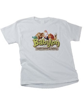 Babylon VBS Theme T-Shirt, Child Large, 14-16   -
