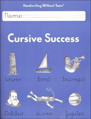 Cursive Success Student Workbook Grade 4, Updated Edition    -