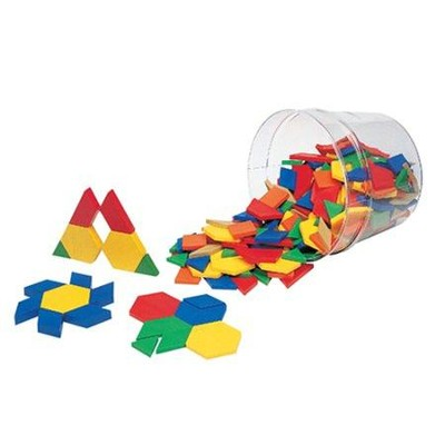 Pattern Blocks - Price Buster (Set of 250)   -