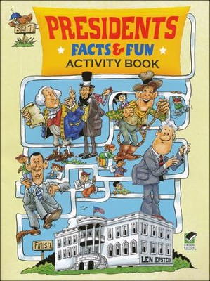 Presidents Facts and Fun Activity Book  -     By: Len Epstein