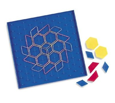 11 X 11 Geoboard Two-Sided   -