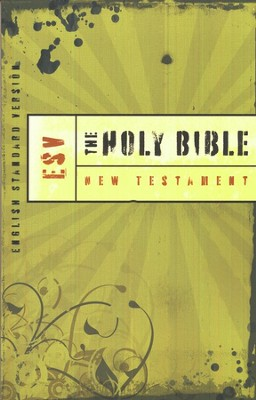 The ESV Outreach New Testament, softcover   -