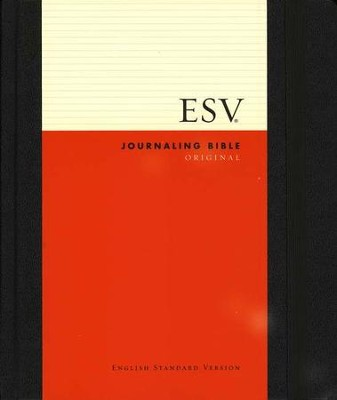 ESV 2-Column Journaling Bible, Original, Black   -
