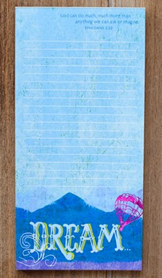 Dream Memo Pad  -
