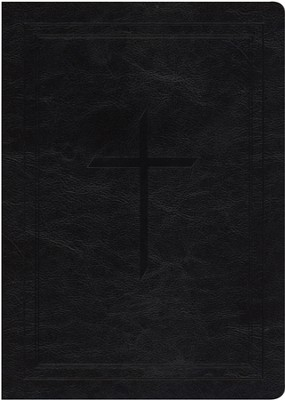 Ryrie NAS Study Bible Soft Touch Black, Red Letter  -     By: Charles C. Ryrie