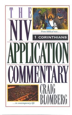 1 Corinthians: NIV Application Commentary [NIVAC]   -     By: Craig L. Blomberg