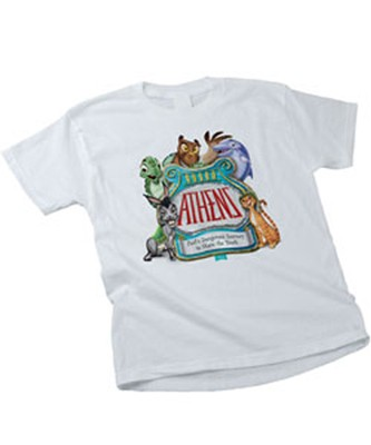 Athens Theme T-shirt, Child Small (6-8)   -
