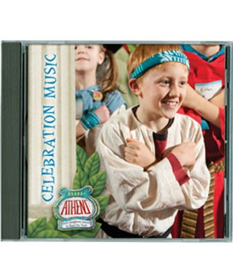 Athens Celebration Participant Music CD  -