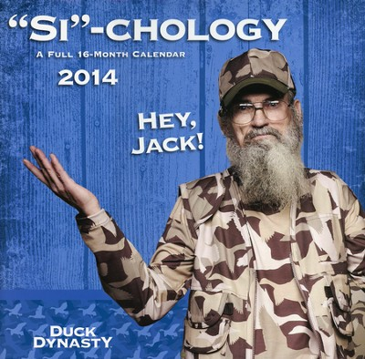 Si-chology, 2014 Duck Dynasty Wall Calendar  -