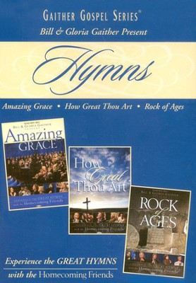 Hymns (3 DVD Set)   -     By: Bill Gaither, Gloria Gaither, Homecoming Friends