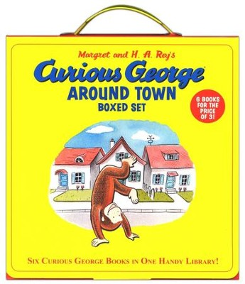 Curious George Around Town Boxed Set (Box of Six Books)  -     By: H.A. Rey