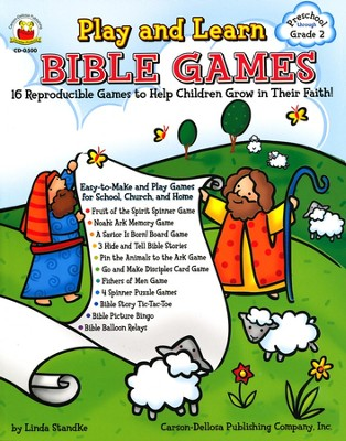 Play and Learn Bible Games  -     By: Linda Standke