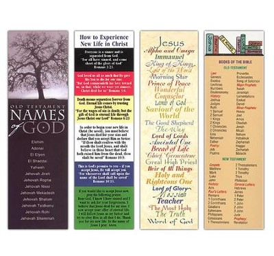 Adult Teaching: Value Pack Bookmarks, 100                 -