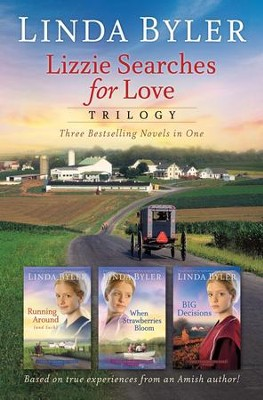 Lizzie Searches for Love, 3-in-1  -     By: Linda Byler