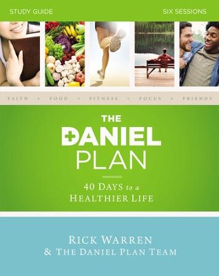 The Daniel Plan Study Guide: 40 Days to a Healthier Life - eBook  -