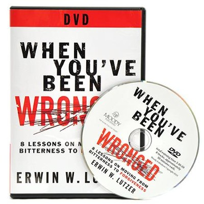 When You've Been Wronged DVD  -     By: Erwin Lutzer