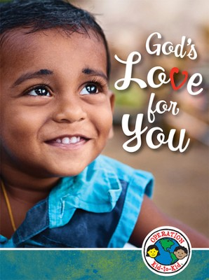 God's Love for You: Operation Kid-to-Kid Hindi/English Pack, 10 sets  -