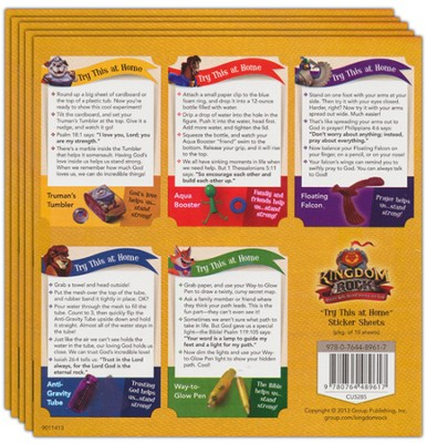 Try This at Home Sticker Sheets, Package of 10 Sheets  -
