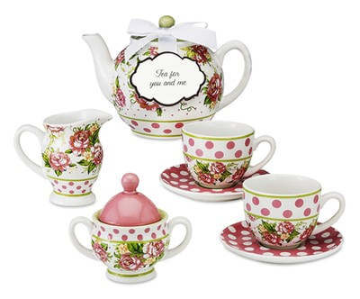 Tea for You and Me, Set of 7 Pieces  -