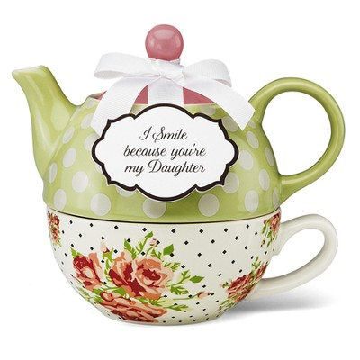 I Smile Because You're My Daughter, Tea for One   -