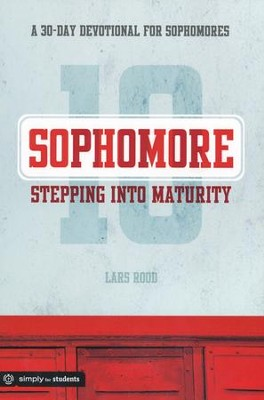 Stepping Into Maturity (Sophomore)   -     By: Lars Rood