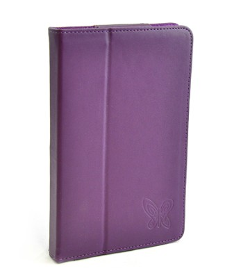 Kindle Fire Cover with Butterfly, Purple  -