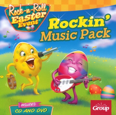 Rock-n-Roll Easter Event Rockin' Music Pack, CD and DVD   -