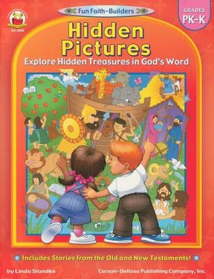 Hidden Pictures Explore Hidden Treasures in God's Word    -     By: Linda Standke
