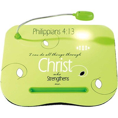 I Can Do All Things Through Christ Lap Desk  -
