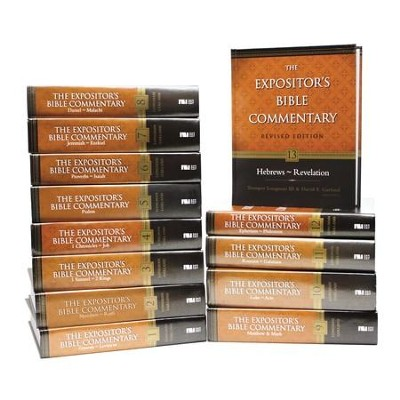 Old Testament & New Testament Set, 13 Volumes: The Expositor's Bible Commentary, Revised  -