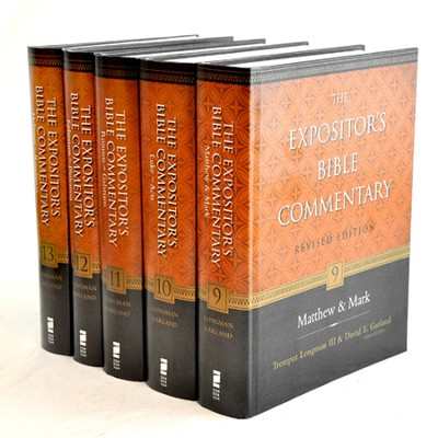 The Expositor's Bible Commentary, Revised: New Testament Set, 5 Volumes  -