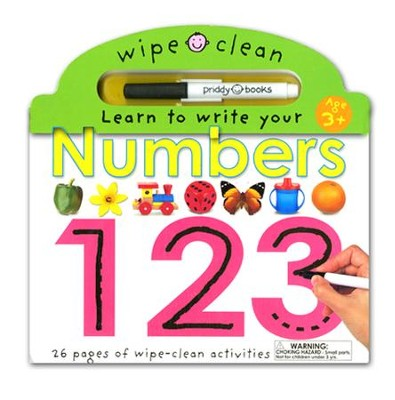 Wipe Clean: Numbers  -     By: Roger Priddy
