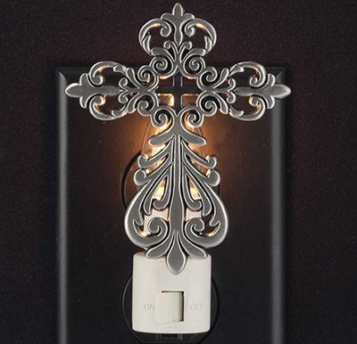 Cross with Cross Nightlight  -