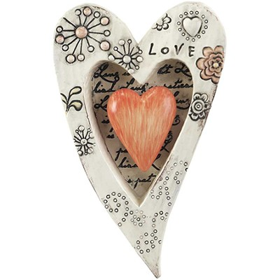 Love Is Patient, Heart Plaque  -