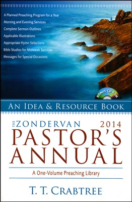The Zondervan 2014 Pastor's Annual  -     By: T.T. Crabtree