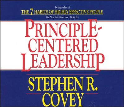 Principle-Centered Leadership - abridged audiobook on CD  -     By: Stephen R. Covey