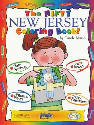 New Jersey Coloring Book, Grades PreK-3  -     By: Carole Marsh