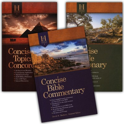 Holman Concise Reference Tools, 3 Volumes   -