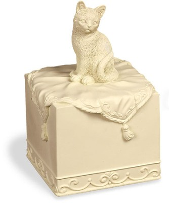 Faithful Friend Pet Urn, Cat  -