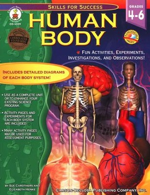 Human Body: Fun Activities, Experiments, Investigations, and Observations! Grades 4 to 6  -     By: Sue Carothers, Elizabeth Henke