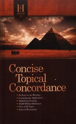 Holman Concise Topical Concordance  -