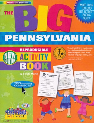 Pennsylvania Big Activity Book, Grades K-5  -     By: Carole Marsh