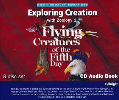 Exploring Creation with Zoology 1 Audio CDs Set (8 CDs)   -