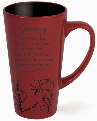 Journey, For I Know the Plans Mug, Red  -
