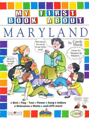 Maryland Coloring Book, Grades PreK-3  -     By: Carole Marsh