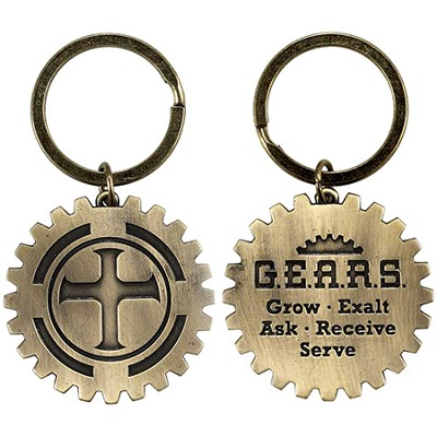 Grow Exalt Ask Receive Serve Keyring  -