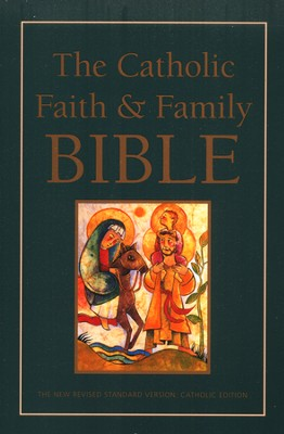 NRSV - The Catholic Faith and Family Bible, Hardcover  -